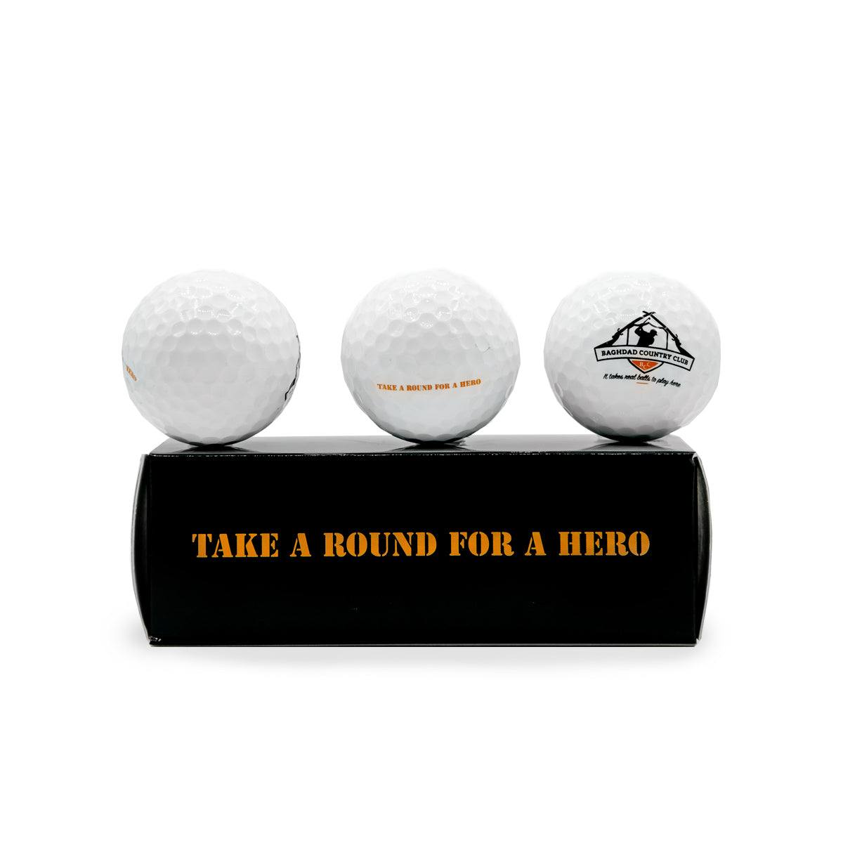 Set of 3 Golf Balls