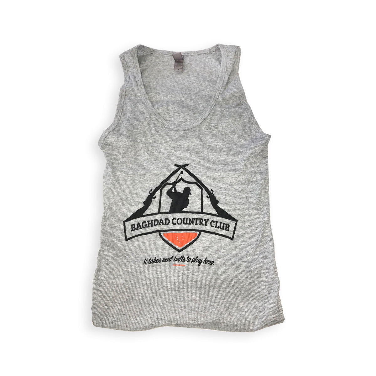 Ladies Tank Top Grey