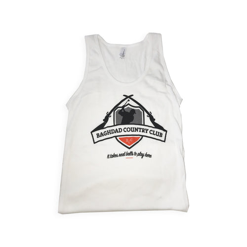Ladies Tank Top White