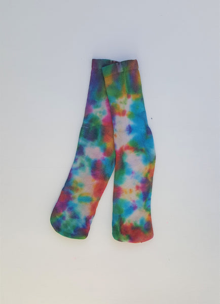 Sports Socks Womens Tie Dye