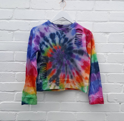 Rainbow Tie Dye Lounge Set UK 12 / US 8