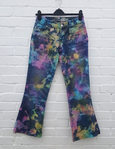 Reverse Tie Dye Jeans Ethical