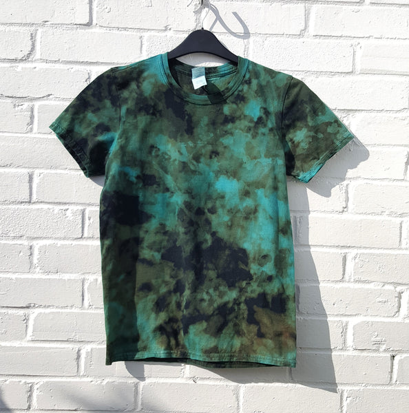 Acid Wash T-shirt Electric Blue Unisex