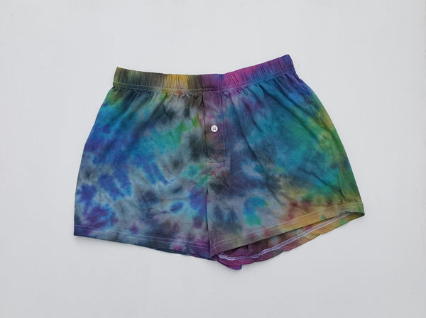 Men's Boxer Shorts S Tie Dye