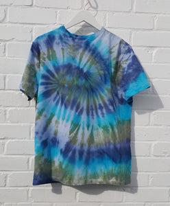 Tie Dye Shirt Men's Organic Cotton
