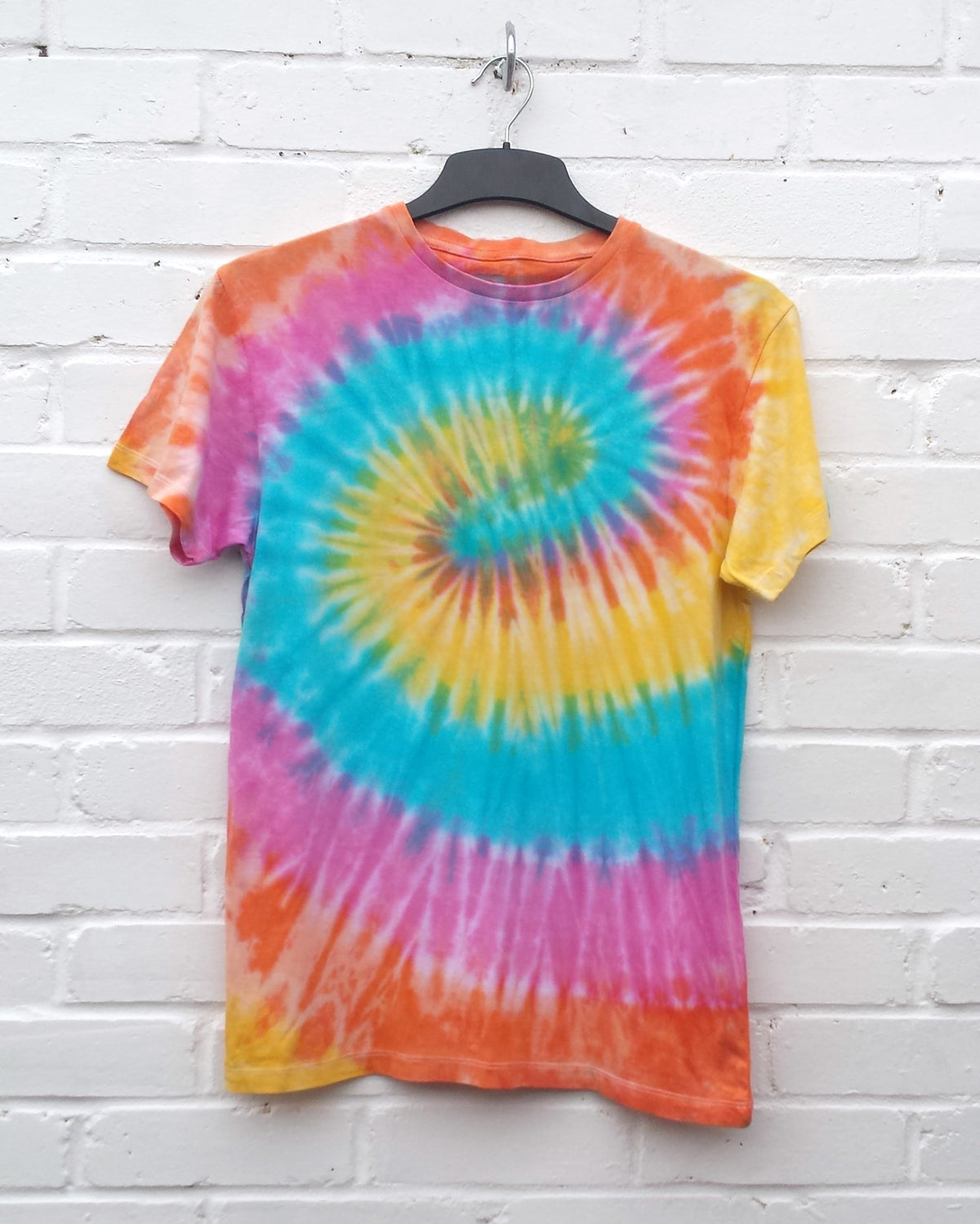 Hippie Tie Dye Shirt Trippy Psychedelic Unisex Tshirt ALL SIZES AVAILABLE Festival Summer Fashion