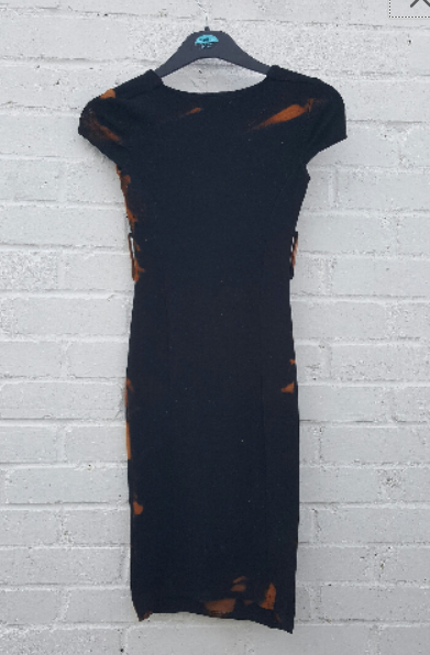 Bleach Dye Dress