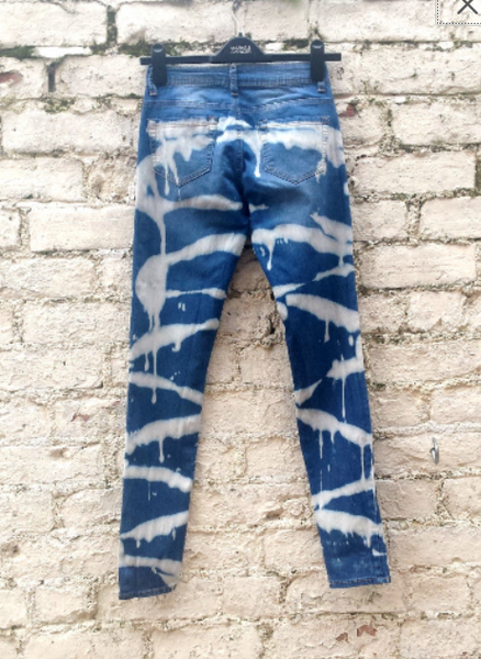 High Waist Ethical Skinny Jeans