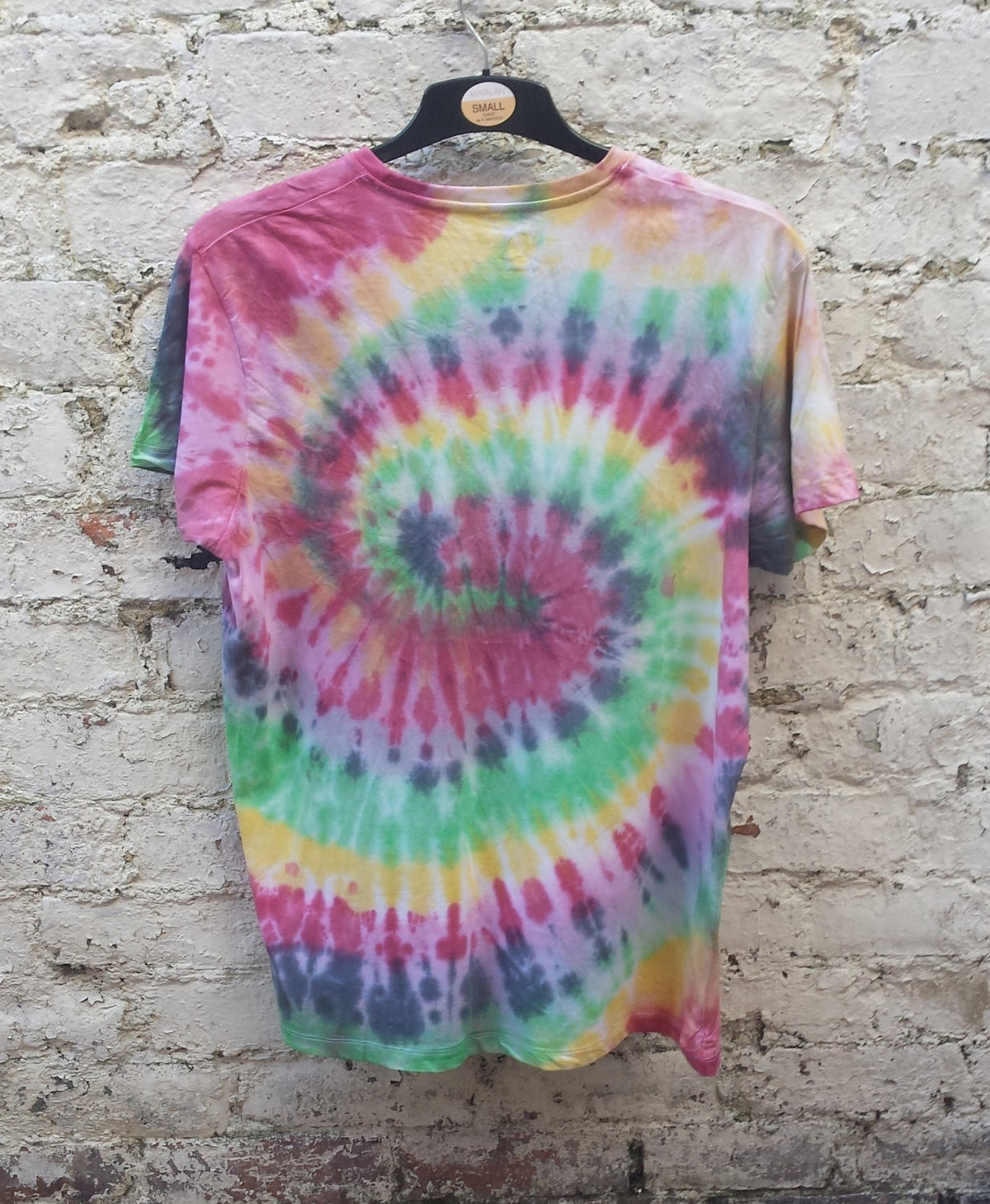 Rasta Tie Dye Tshirt Hippie Shirt Spiral Trippy Psychedelic Unisex T-shirt All Sizes Custom Tie Dye Clothing Hippy Gift Tiedye Gifts Ideas