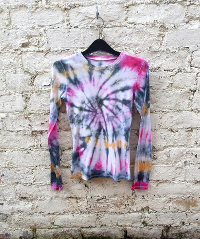 Tie Dye Long Sleeve Top Women's