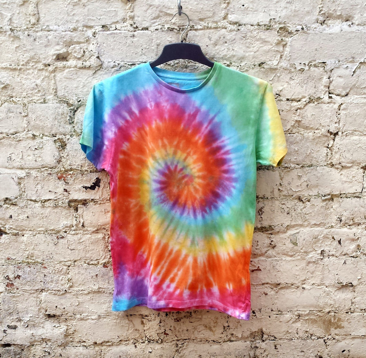 Rainbow Tie Dye Shirt Hippie Tshirt Unisex T-shirt ALL SIZES Festival Clothing Trippy Psychedelic Mens Gift LGBT trippy shirt gift OwD33OufK