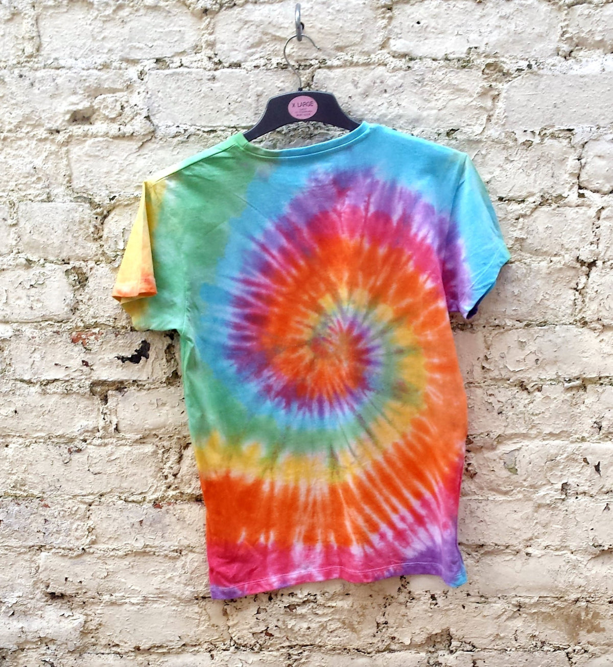 Rainbow Tie Dye Shirt Hippie Tshirt Unisex T-shirt ALL SIZES Festival Clothing Trippy Psychedelic Mens Gift LGBT trippy shirt gift