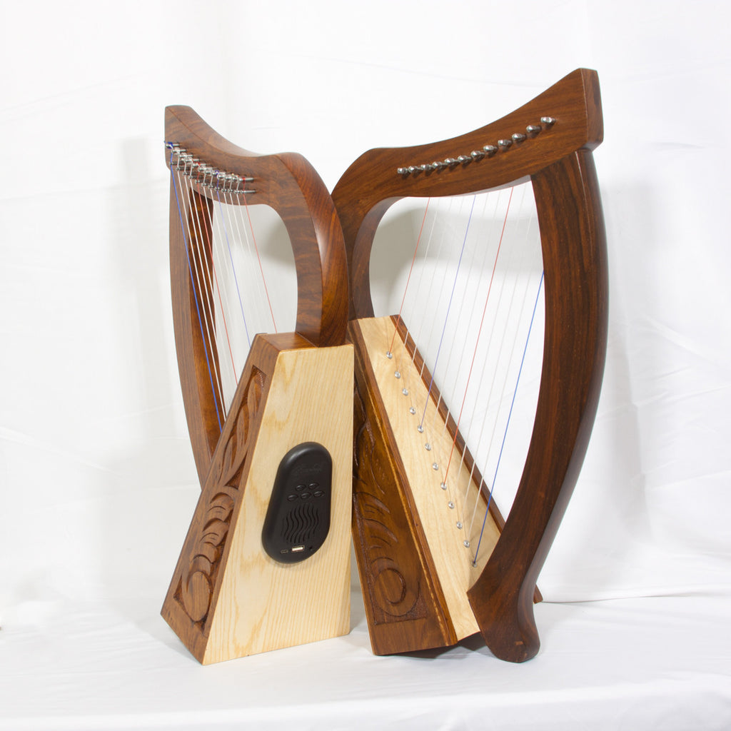 New Product: Roosebeck Baby Harp 12-String with Bluetooth Speaker