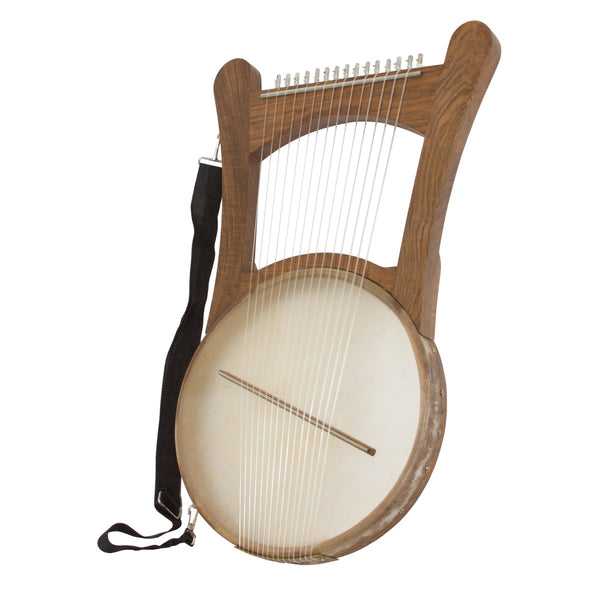 Mid-East Nevel Harp w/ Gig Bag - Walnut