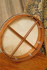 Roosebeck Tunable Bodhran with Double-Layer Natural Head