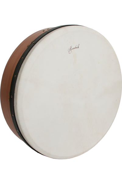 Roosebeck Pro Tunable Red Cedar Bodhran Single-Bar 18-Inch x 5-Inch