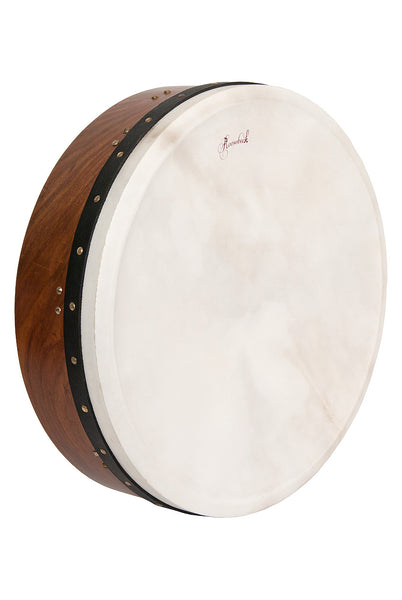 Roosebeck Pro Tunable Sheesham Bodhran Single-Bar 18-Inch x 5-Inch