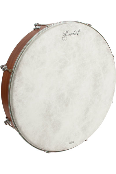Roosebeck Outside Tunable Bodhran 18-Inch x 3.5-Inch with Cross-Bars