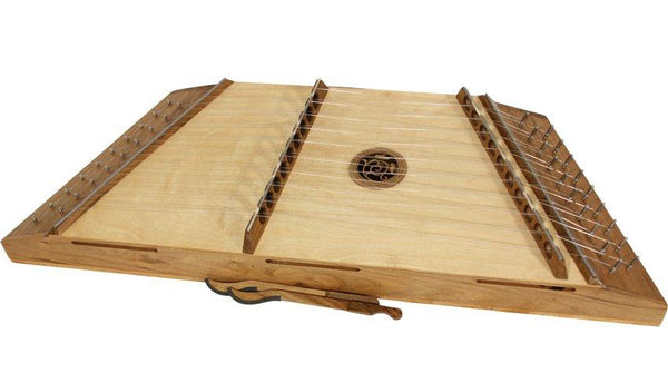 Roosebeck Single Strung 10/9 Hammered Dulcimer w/ Hammers - Walnut