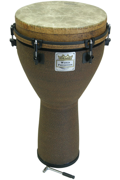 Remo Key-Tuned Djembe 12-Inch x 24-Inch - Earth