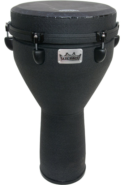 Remo Key-Tuned Djembe 12-Inch x 24-Inch - Black Earth