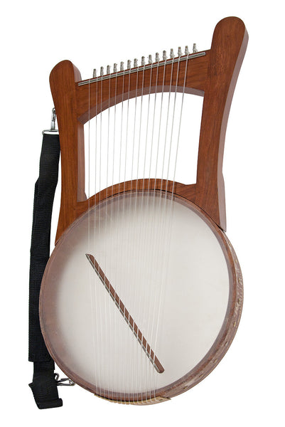 Mid-East Nevel Harp With Gig Bag
