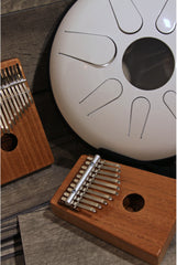DOBANI 10-Key Kalimba with Pickup - Mahogany