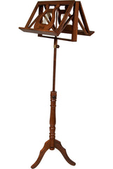 EMS Double Tray Regency Music Stand Sheesham
