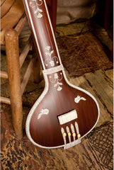 banjira Deluxe Flat Back Tanpura with Gig Bag