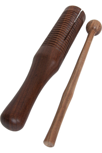 DOBANI Wooden Single Bell Agogo with Mallet