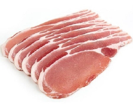 250g Pork Back Bacon