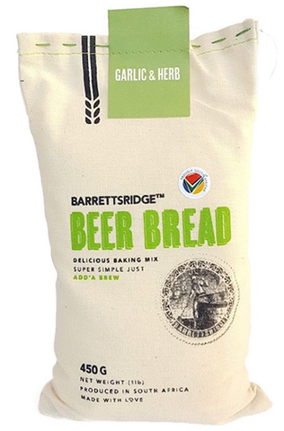 Barrett's Ridge Garlic & Herb Beer Bread 450g
