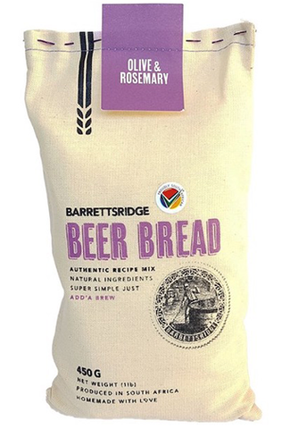 Barrett's Ridge Olive & Rosemary Beer Bread 450g
