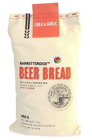 Barrett's Ridge Chilli & Garlic Beer Bread 450g
