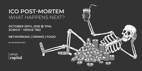 ICO Post-Mortem Networking Event (Oct 29) - Lead Generation