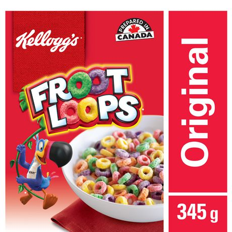Kellogg's Froot Loops Cereal 345g