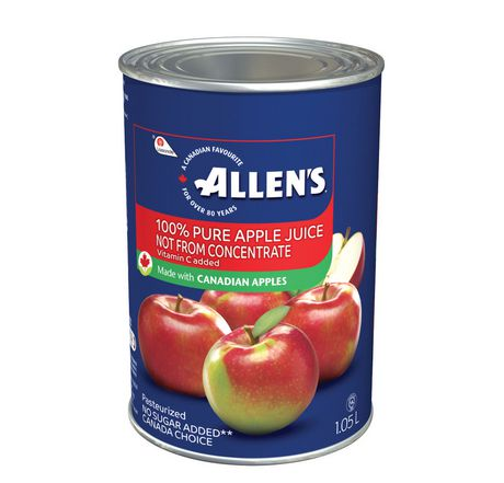 Allen's 100% Apple Juice Not from concentrate 1.05L