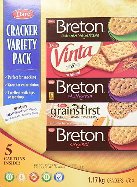 Dare Cracker Variety Pack 5 Cartons 1.17 kg