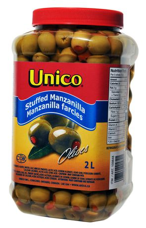Unico Stuffed Manzanilla 2L