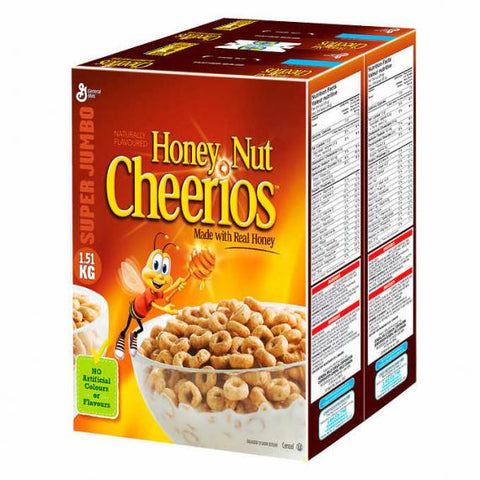 Honey Nut Cheerios 2 x 1.51 kg