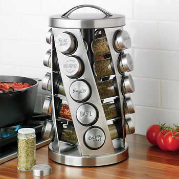 Kamenstein 20 Jar Spice Rack