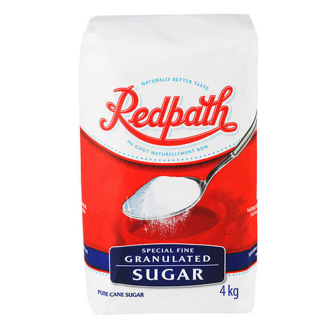 Redpath Special Fine Granulated Sugar 4 kg
