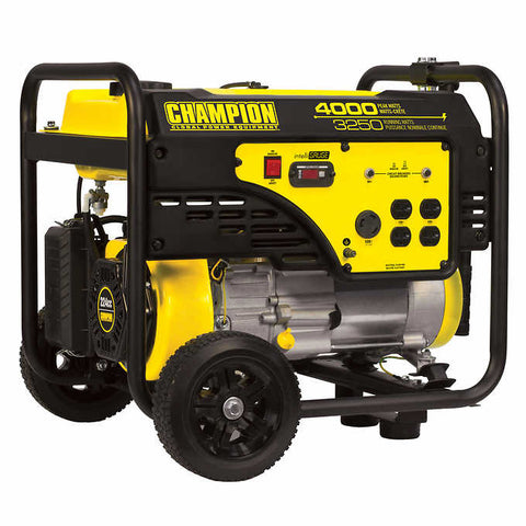 Champion - 4000 W Peak Portable Gasoline Generator