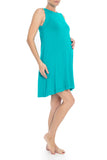 Sleeveless Knee Length Maternity Dress