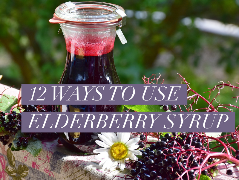 12 Ways to Use Elderberry Syrup