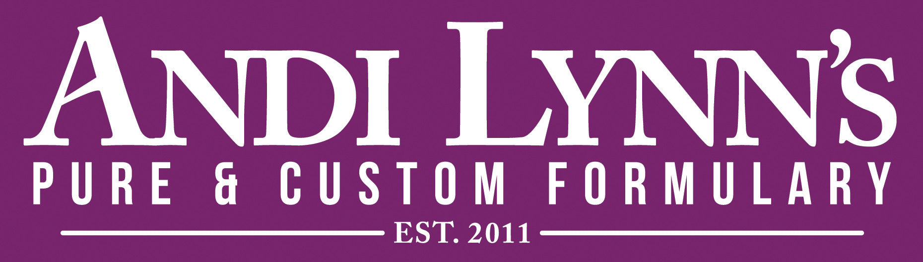 Andi Lynn's Pure & Custom Formulary