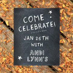 Andi Lynn's Grand Opening Sign for January 25th