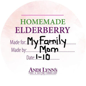 Homemade Elderberry Syrup Kit - Safe for kids and all natural