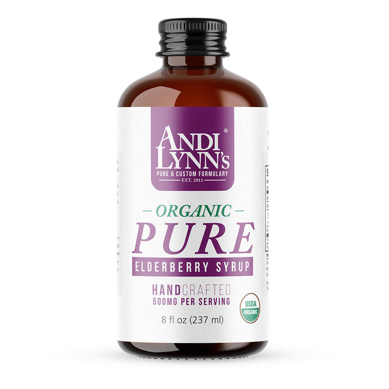 Andi Lynn's Pure Elderberry Syrup - Safe for kids and all natural