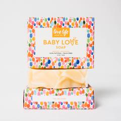 Baby Love Soap 5oz - Safe for kids and all natural